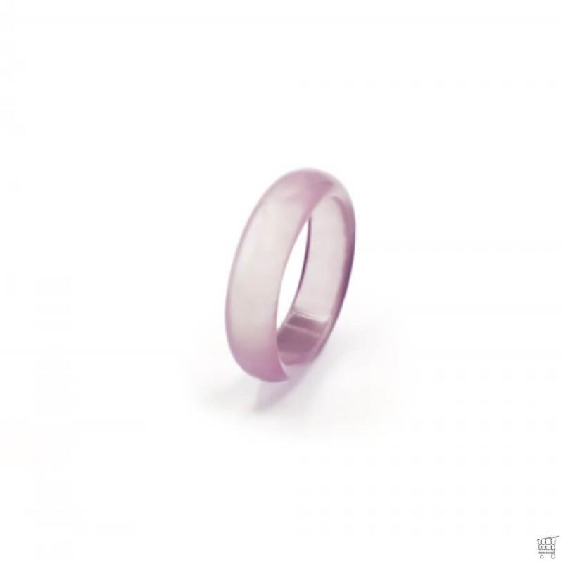 Toller Achat-Ring in Rosa RING0026
