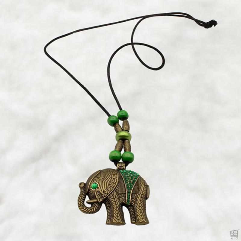Elefant in Altbronze KT0068